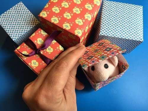 Kleine Geschenkbox  – einfach und schnell