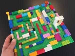 Lego Kugel-Labyrinth